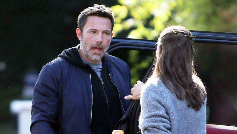 La fuerte discusión de Jennifer Garner y Affleck en la calle