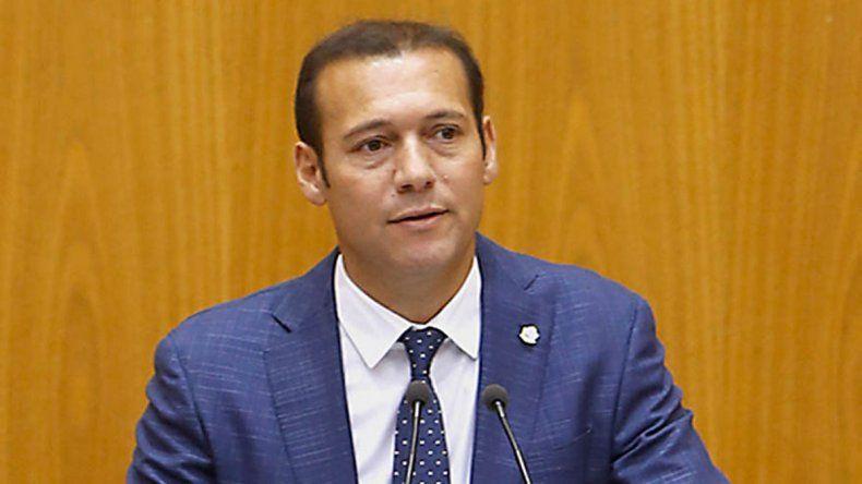Omar Gutiérrez anunció a los ministros de su segundo mandato como gobernador