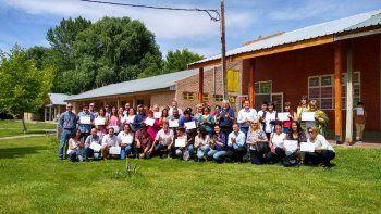 nueve municipios capacitaron a inspectores bromatologicos