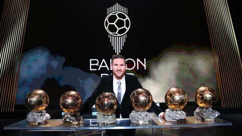 Messi récord: ganó el sexto Balón de Oro en su carrera