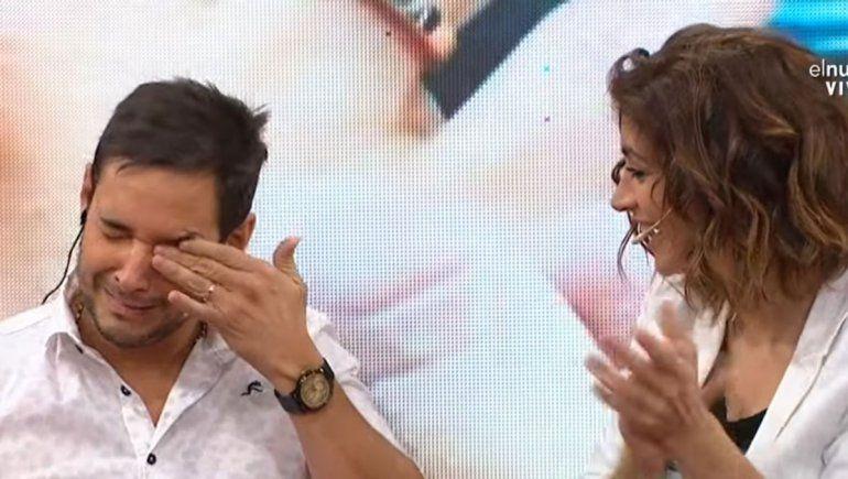 Video: Lussich se comprometió, presentó a su novio y se emocionó al aire