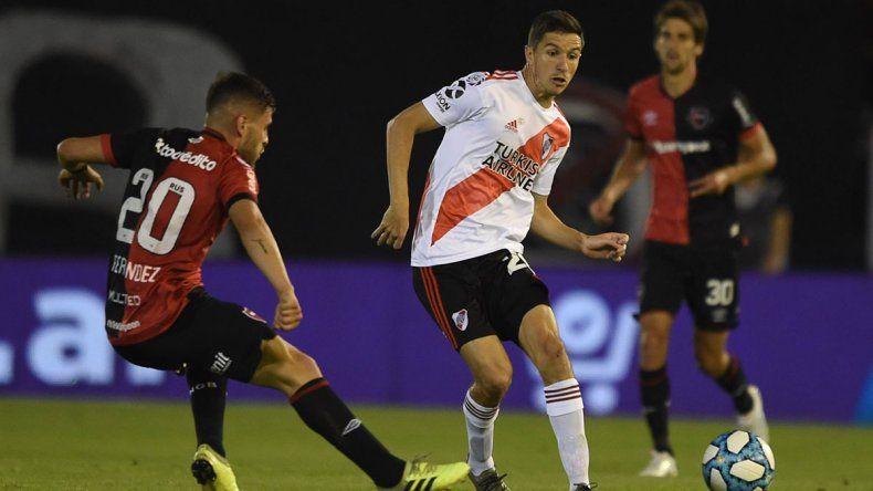 Nacho Fernández se desgarró y es duda para la final