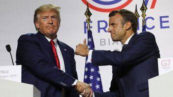los aranceles de trump desata una nueva guerra con francia