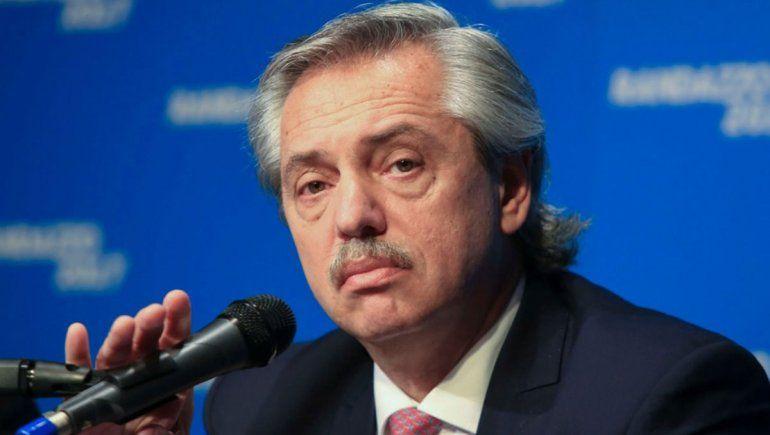 Alberto Fernández halagó a Cristina por su declaración