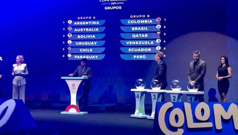 Argentina debutará en la Copa América ante Chile en el Monumental