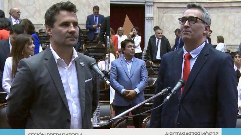 Martínez y Sánchez juraron como diputados por Neuquén