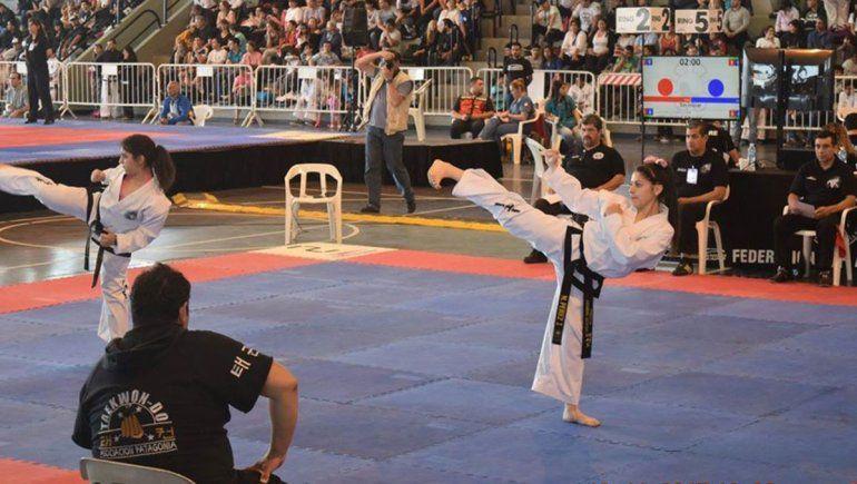 La promesa neuquina que hace Milagros en taekwondo con su talento