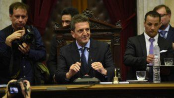 massa, ya en su nuevo rol, pidio dejar atras la argentina dividida