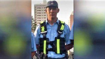 murio emiliano amaya, el policia embestido en la 22