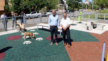neuquen tiene su primera plaza para perros