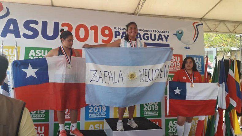 La zapalina de 14 años que se lanza al mundo y ya es campeona sudamericana