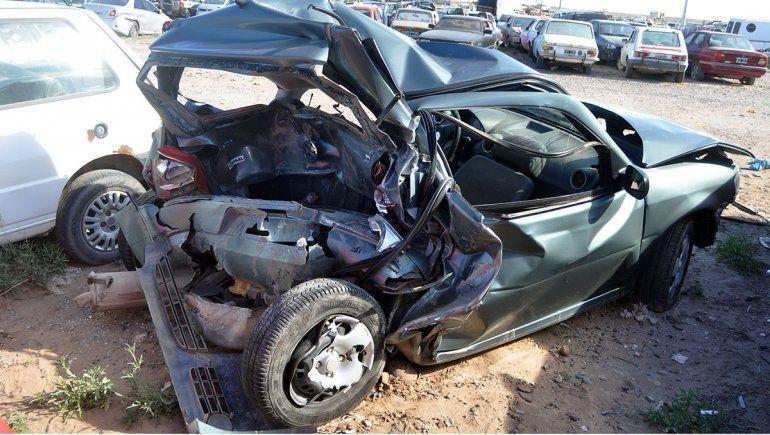 La Ranger chocó a más de 100 kilómetros por hora al policía Amaya