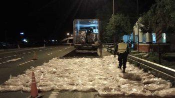 secuestraron 150 costillares que venian a neuquen