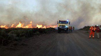 caviahue: voraz incendio ya consumio 1200 hectareas