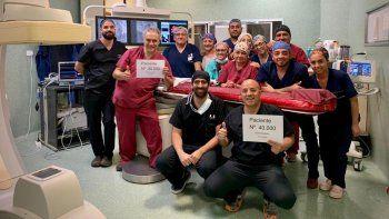 record: 40.000 intervenciones que salvan vidas