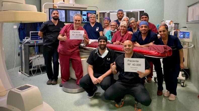 Récord en salud: 40.000 intervenciones que salvan vidas