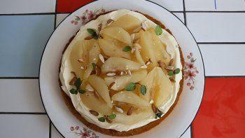 cocinar en casa capitulo 3: juliana espinoza y una tarta de peras especiada