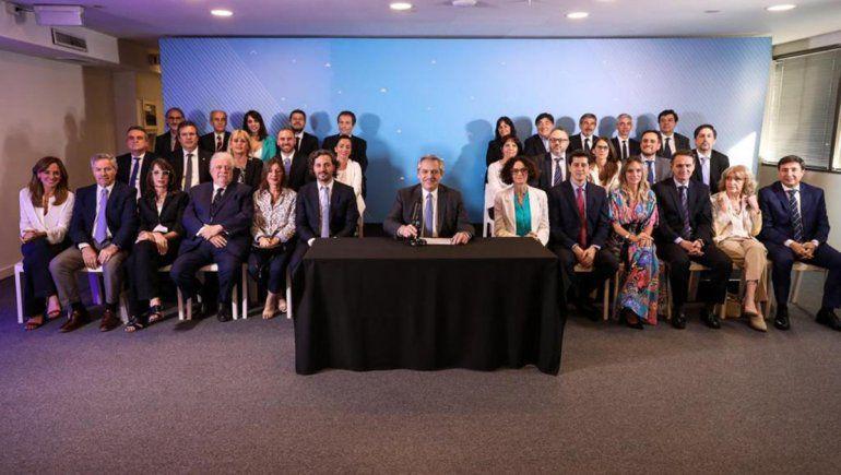 Uno por uno: quién es quién en el gabinete de Alberto Fernández
