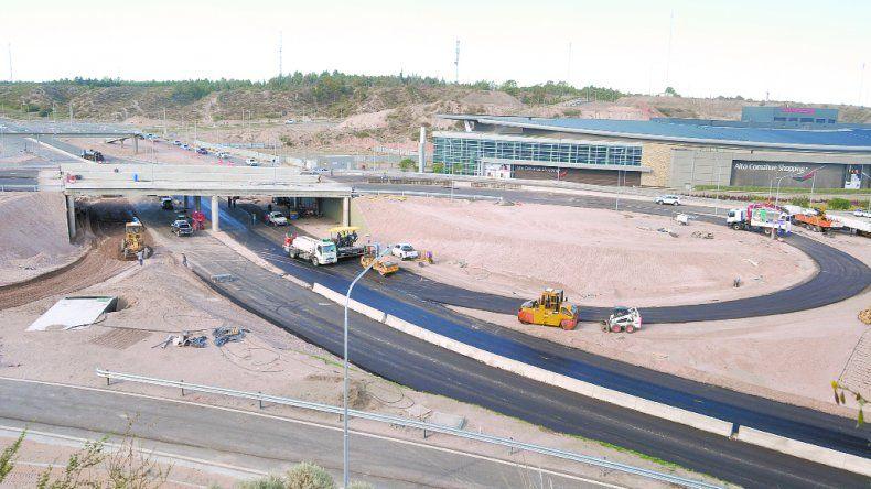 El nodo vial quedó para ser inaugurado en la gestión de Gaido.