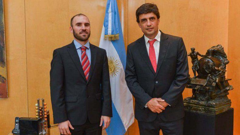 Lacunza y Guzmán tuvieron una reunión valiosa y constructiva
