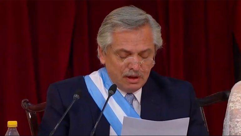 La emoción de Alberto Fernández al recordar a sus padres y a Kirchner
