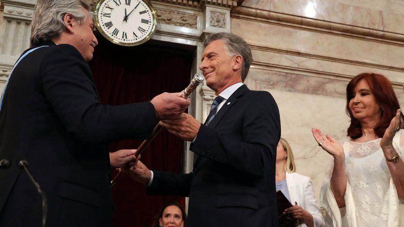 Las mejores fotos de la asunción del presidente Alberto Fernández