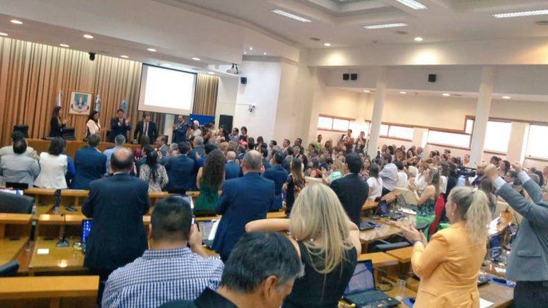 Asumieron 11 concejales para el Concejo Deliberante de la era Gaido