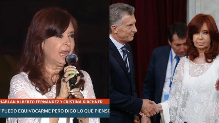¿Cristina se hizo cargo del tenso saludo con Macri?: No soy hipócrita, ni lo voy a ser nunca