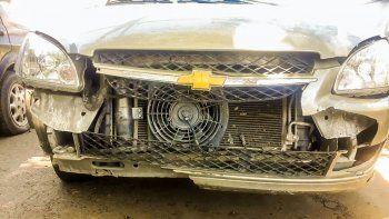 peritan un corsa por el accidente del policia amaya