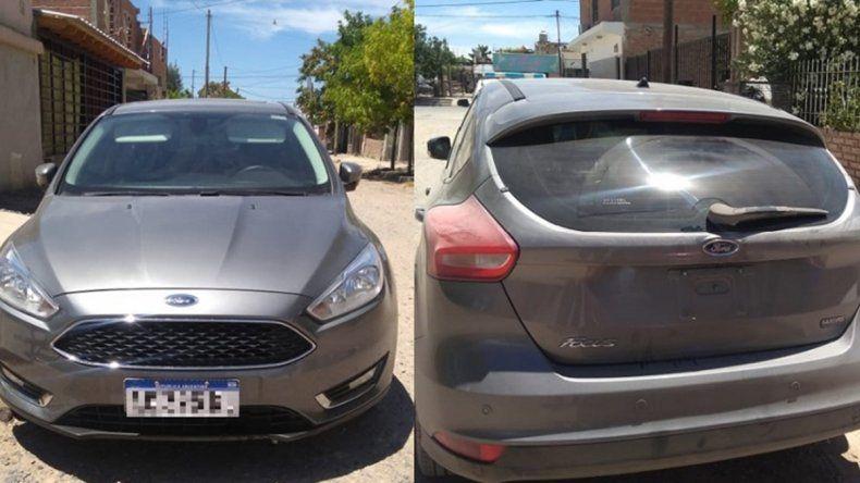 El raid delictivo en un auto robado que afectó a tres ciudades del valle