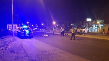 ciclista murio sobre la 22 al ser embestido por un auto