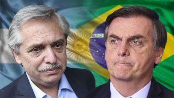 a bolsonaro le gusto el discurso de fernandez y lo invito a brasil