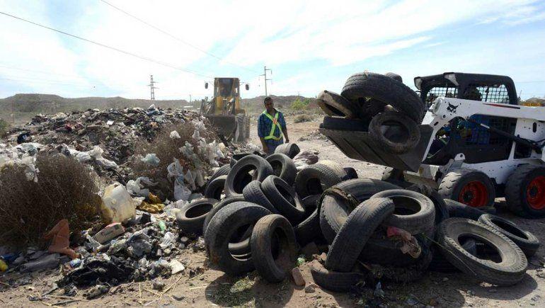 Desactivan microbasural en Valentina Norte Rural: sacaron 400 toneladas de residuos