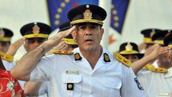 asumio el nuevo jefe de policia, julio peralta