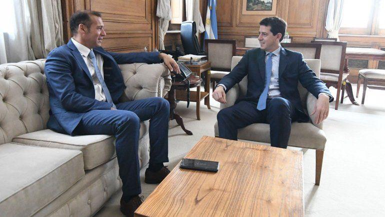 Gutiérrez se reunió con de Pedro y Kulfas: Fue muy positivo