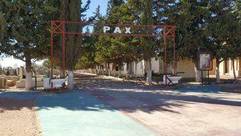 plaza huincul: se roban mas de 30 placas en el cementerio