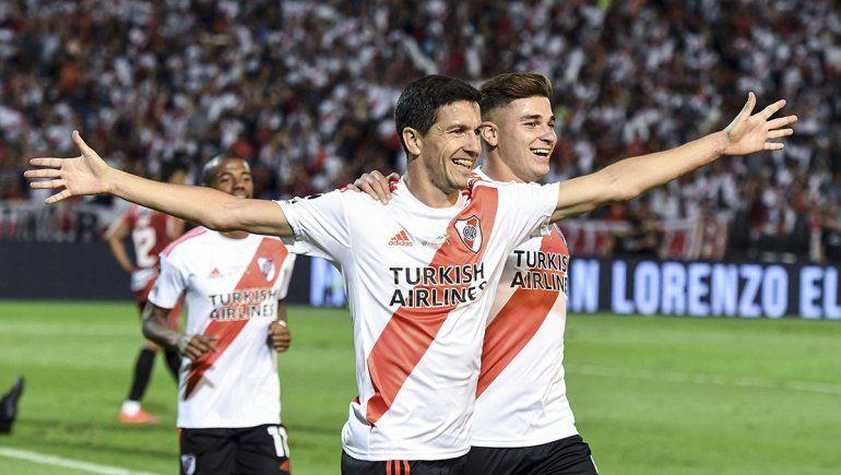 Gallardo: Nacho Fernández está contento acá, no se va a ir a ningún lado