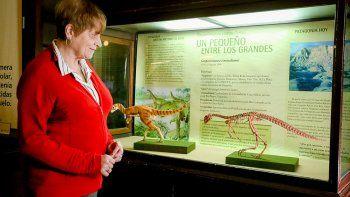 la paleontologa que descubrioo hace 45 anos a los verdaderos monstruos de  vaca muerta