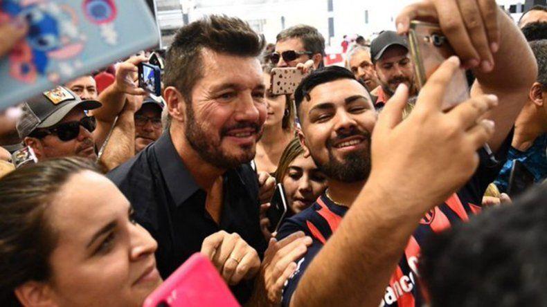 Tinelli arrasó en las urnas y es el nuevo presidente del Ciclón