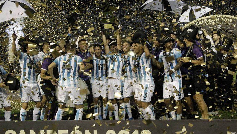 Racing le ganó a Tigre y es el campeón de campeones