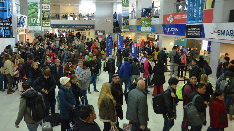 Creció 20% la cifra de usuarios del aeropuerto Perón
