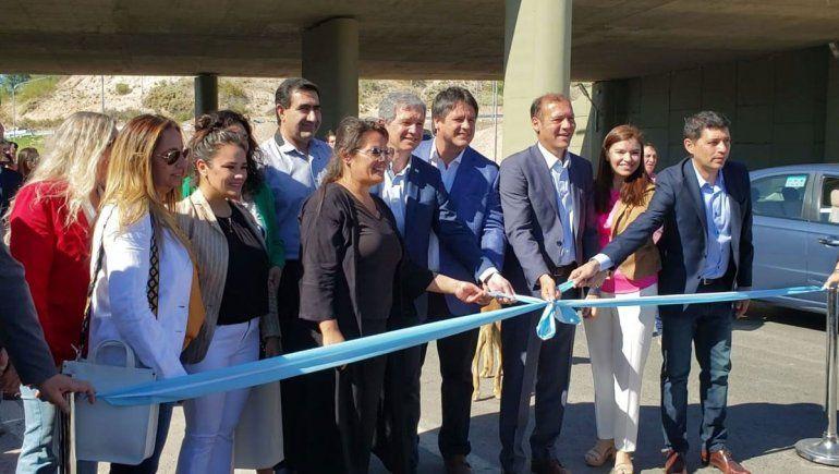 Gutiérrez, Gaido y Monzani inauguraron el nodo vial