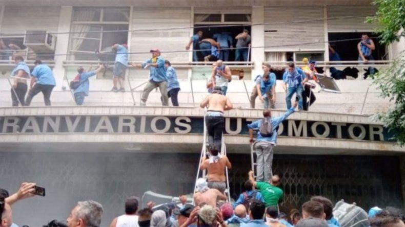 La interna de la UTA desató hechos de extrema violencia en Buenos Aires