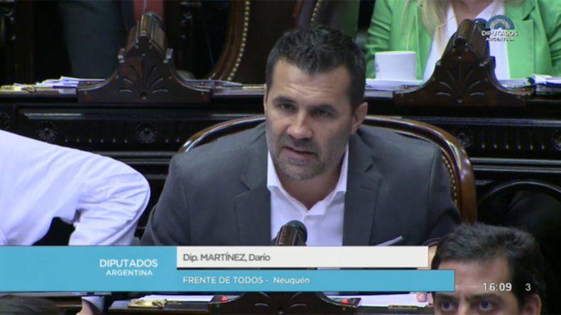Martínez: El tejido social hoy está en una situación más que alarmante