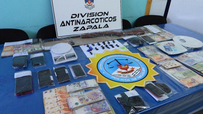 Cayó la banda de la Despensa: tenía dos kioscos de narcomenudeo en Loncopué y Las Lajas