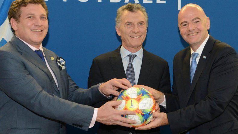 Antes de pasar las fiestas en La Angostura, Macri viajó a ver la final del Mundial de clubes