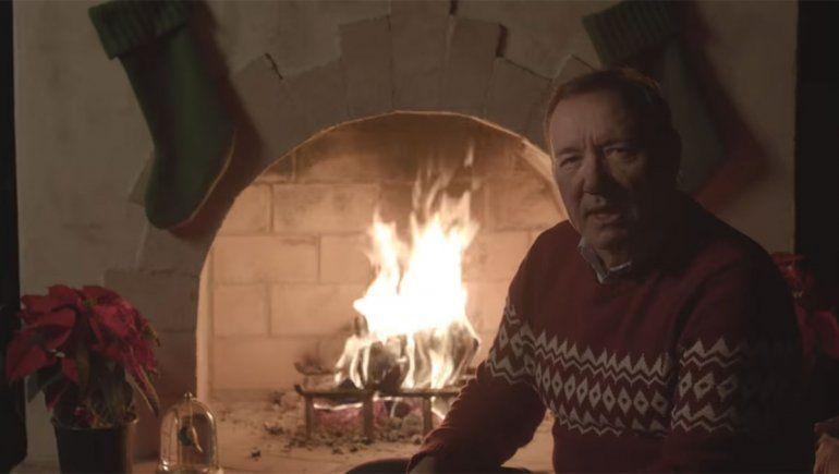 La polémica reaparición navideña de Kevin Spacey en la piel de Frank Underwood