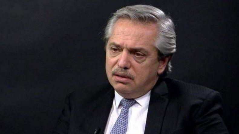 Alberto Fernández se refirió a los mensajes falsos en las redes