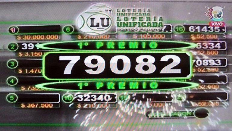 La pelea se llevó el Gordo de Año Nuevo de la Lotería: 79082