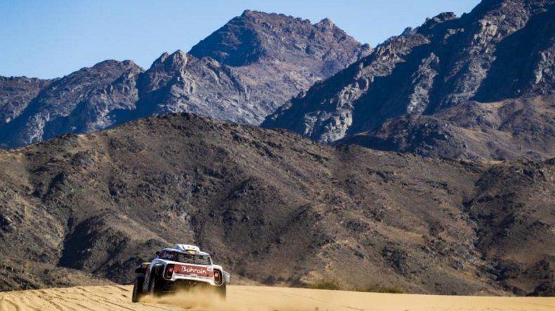Price y Zala se destacaron en el arranque del Dakar 2020